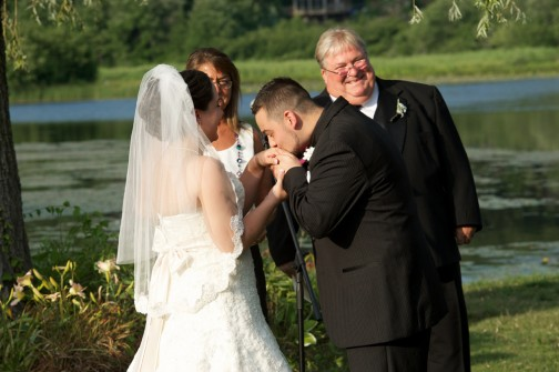 Ceremony Hand Kiss