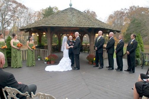 Ceremony at Bill Miller's Castle